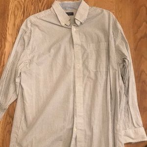 Nautica long sleeve button up shirt